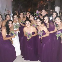 DAMAS DE HONOR (2)
